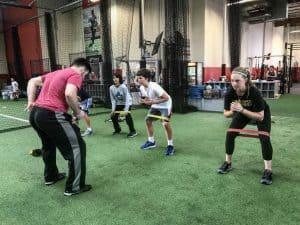 warmups and coaching