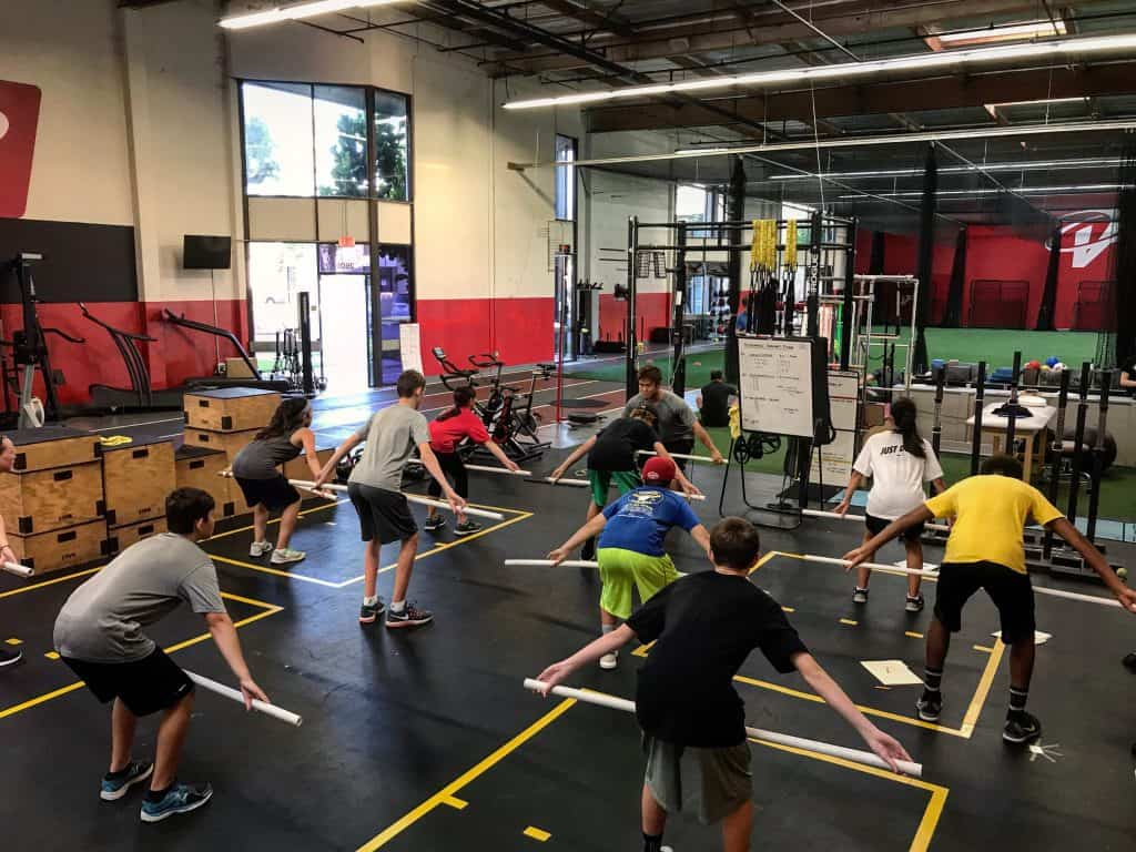 coaching youth strength training basics