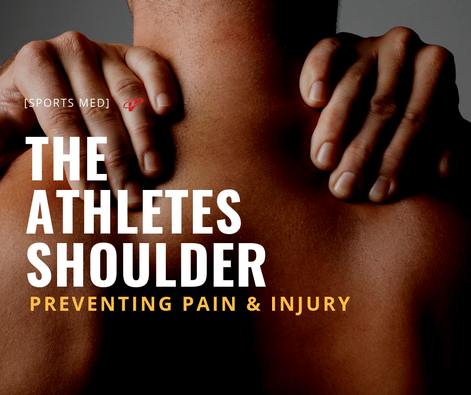 Athletes shoulder pain