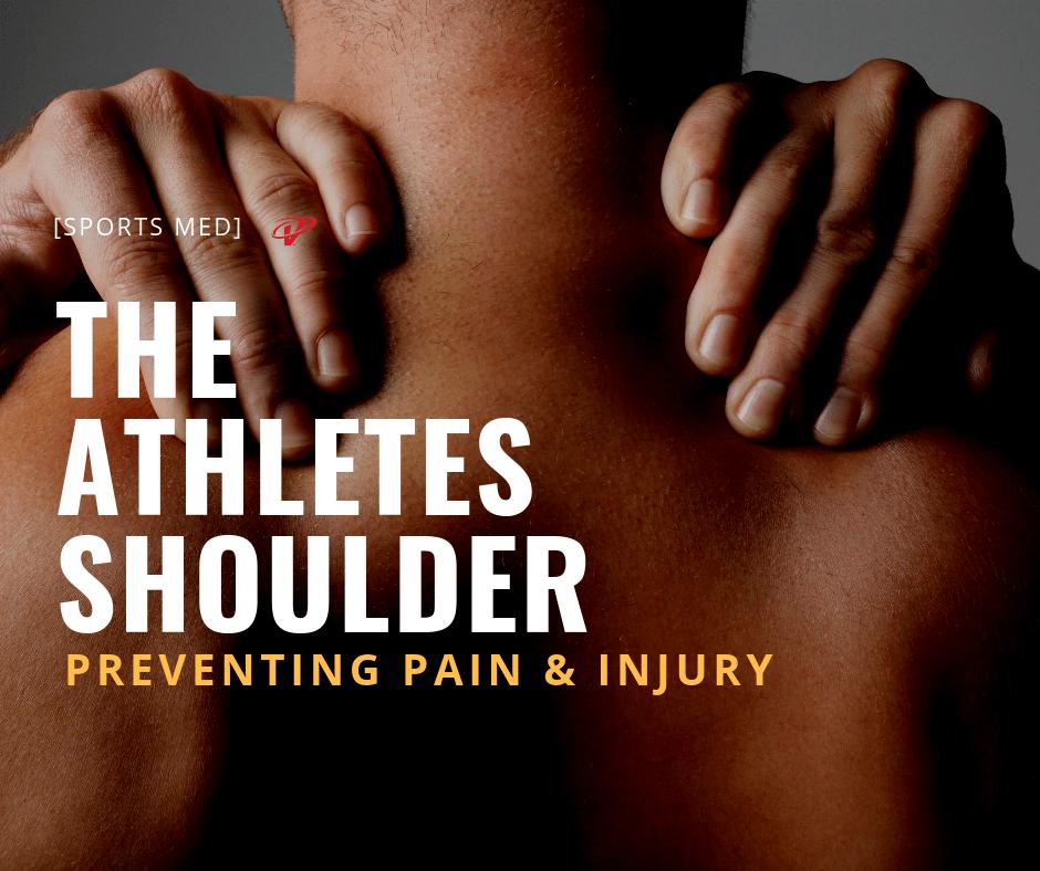 Athletes shoulder pain