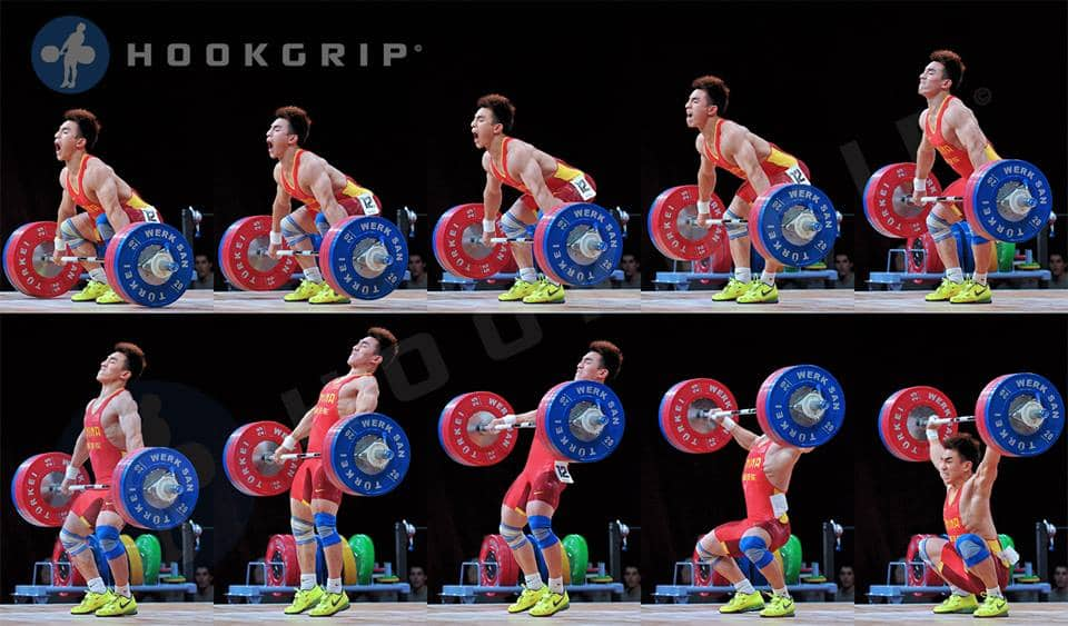 Technical breakdown of snatch olympic lift