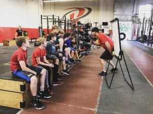 coaching young athletes