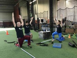 flexibility arms raising