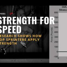 Research Proves How Faster Sprinters Use Strength For Speed