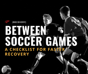 faster recovery between soccer games