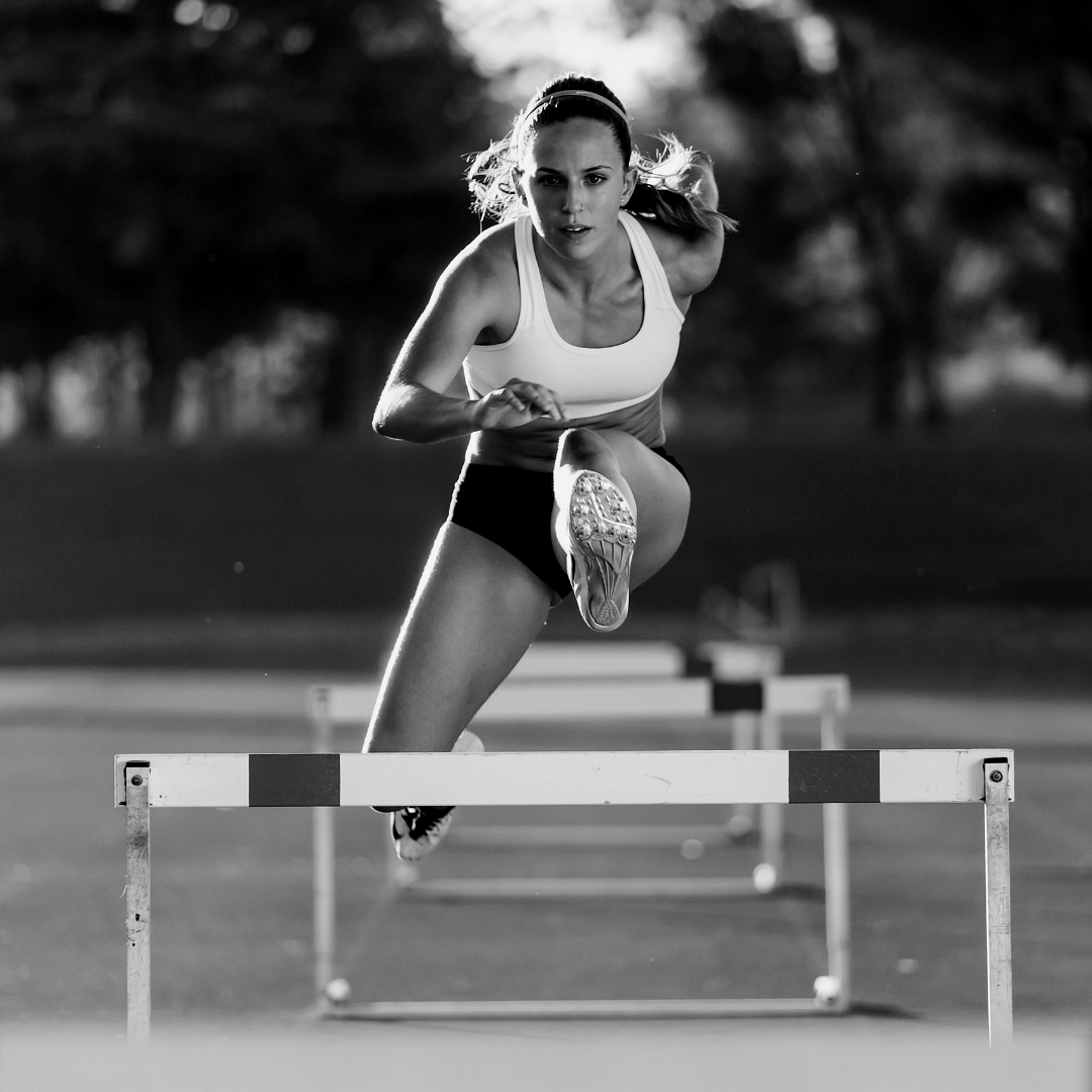 track & field hurdles female