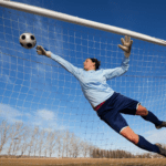 building young athletes female goalie