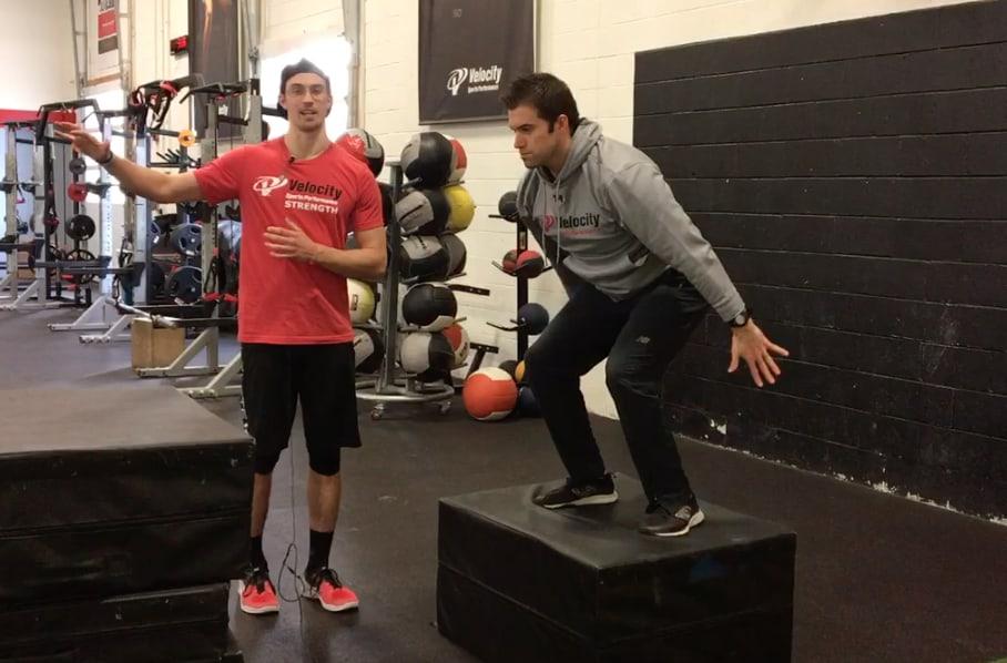 Training jump technique