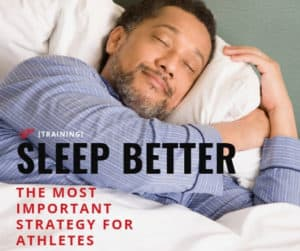 sleep is the most important strategy for athletes