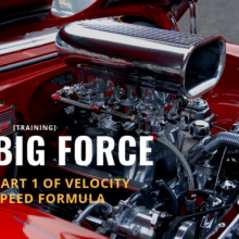 Velocity Speed Formula: Big Force