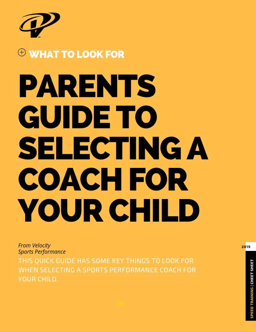 Parents Guide To Selecting a Coach for Your Child