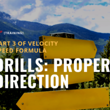 Velocity Speed Training Drills: Proper Direction