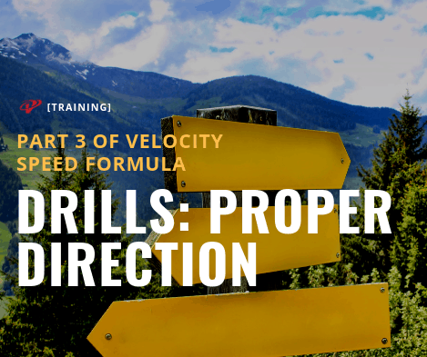 Speed Training Drill for Proper Direction