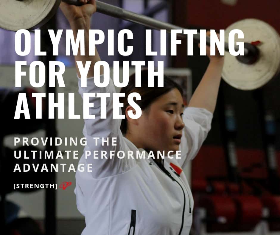 Olympic Lifting for youth athletes