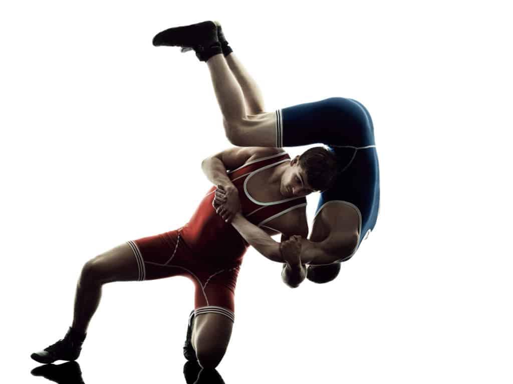 wrestling sport-specific skills