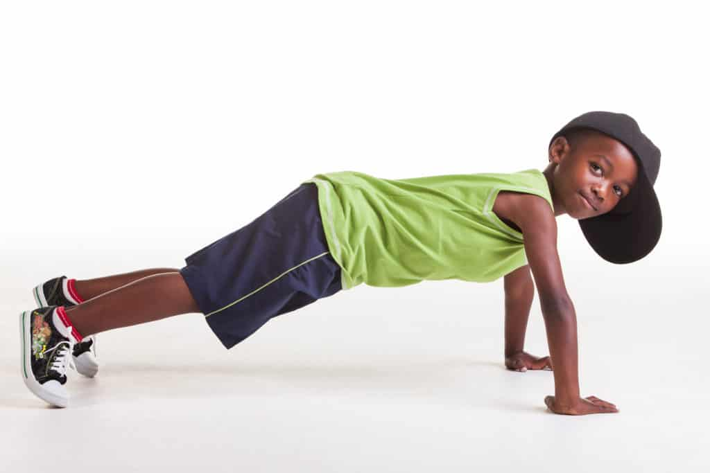 kids strength training push-ups
