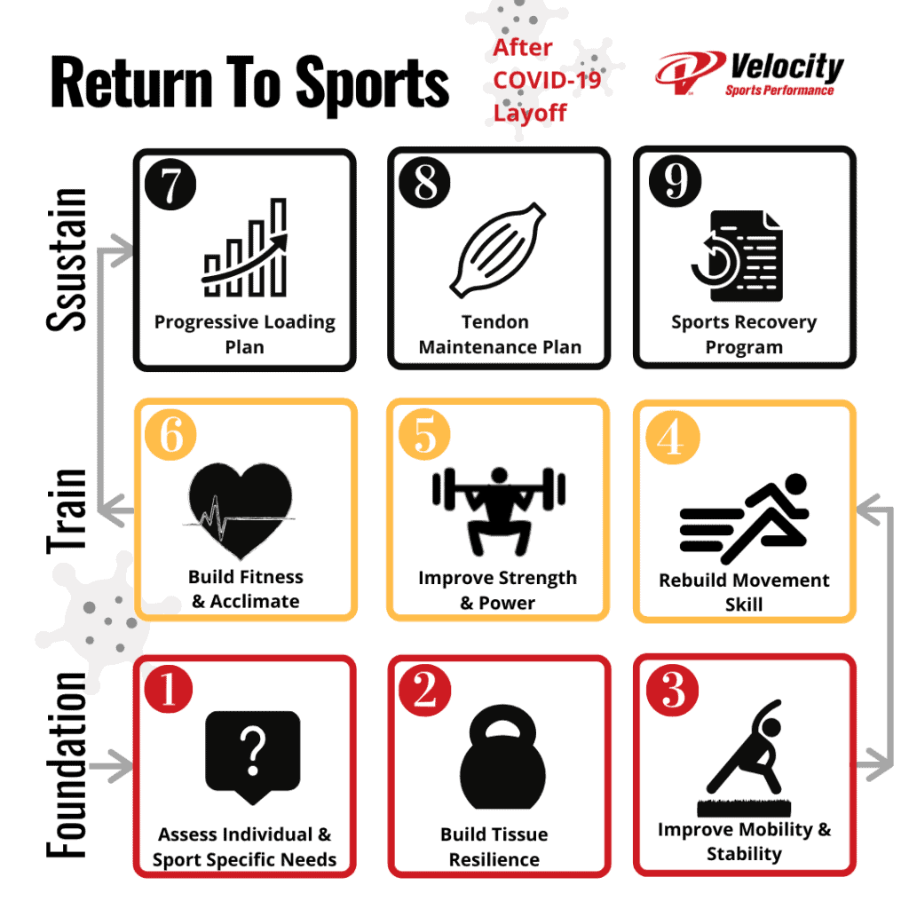 Return To Sport Pathway after COVID-19