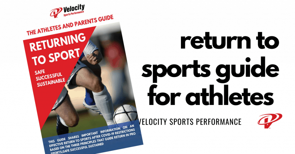 return to sports guide for athletes and parents