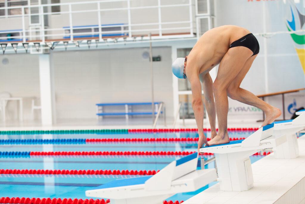 training for explosive swimming start